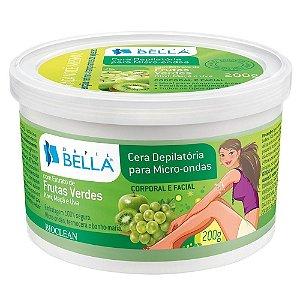 Depil Bella  - Cera Depilatória para Micro-ondas Frutas Verdes 200g