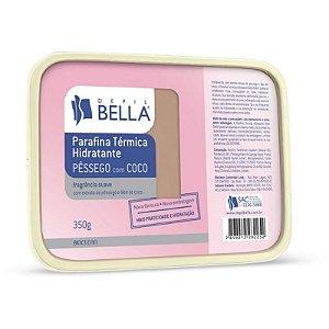 Parafina Térmica Hidratante Coco com Pêssego 350g - Depil Bella