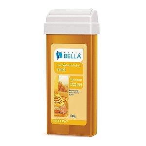 Cera Depilatória Roll-on Mel 100g - DEPIL BELLA