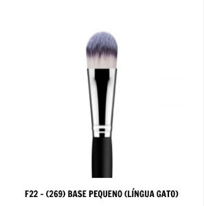 PINCEL F22 DAYMAKEUP - (269) BASE PEQUENO (LÍNGUA GATO)
