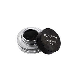 Delineador em Gel Black - HB 8401 - Ruby Rose PROMOÇÃO