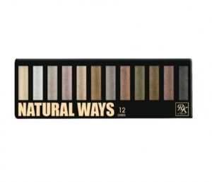 Paleta de sombras NATURAL WAYS 12 cores - KISS NY