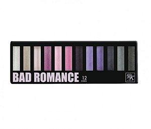 Paleta de Sombras 12 Cores Bad Romance RK - Kiss New York
