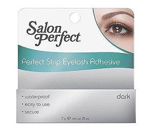 Cola para Cílios Perfectly Strip Eyelash Adhesive Dark - Preta Salon Perfect