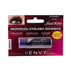 Cola de Cílios KPEG01S Jet Black 01  6g – First Kiss