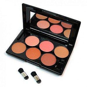 Paleta de Blush CR9723 com 6 cores - JASMYNE