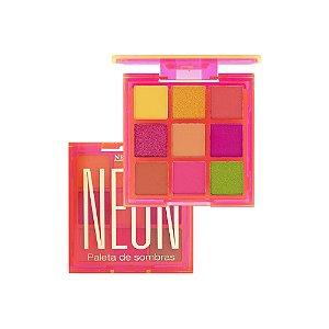Paleta De Sombras Neon Cor 1 - New Face PROMOÇÃO