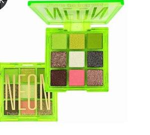 Paleta De Sombras Neon Cor 2 - New Face PROMOÇÃO
