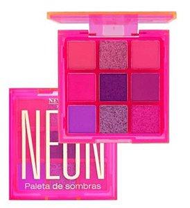 Paleta De Sombras Neon Cor 3 - New Face PROMOÇÃO