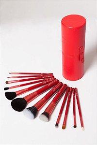 PROMOÇÃO - Kit Full Luv - 12 Pincéis + Case