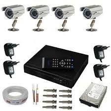Kit CFTV câmeras de seguranças