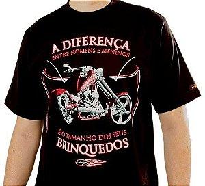 Camiseta Homens e Meninos