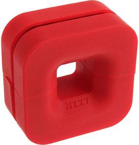 Suporte para headset NZXT Puck vermelho,  BA-PCKRT-RD