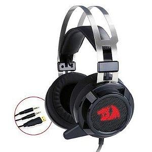 Headset Gamer Redragon Siren, H301 Conexão P2