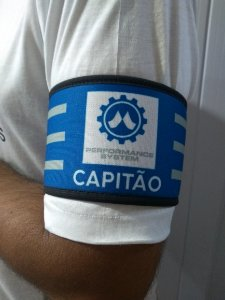 Faixa capitão/identificação personalizada - Neoprene