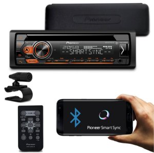 Rádio Pioneer Deh-s4180bt 4180 Cd Bluetooth Usb