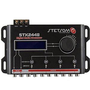 Processador De Audio Stetsom Stx2448 Digital 4 Canais