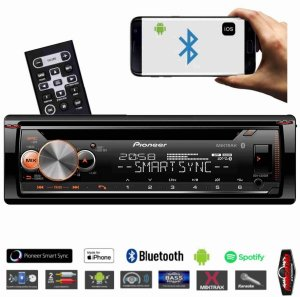 Cd Automotivo Pioneer Deh-x500br Bluetooth Mixtrax