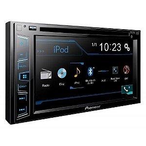 Radio Dvd Pioneer  Avh-g208bt Bluetooth sem leitor de Dvd
