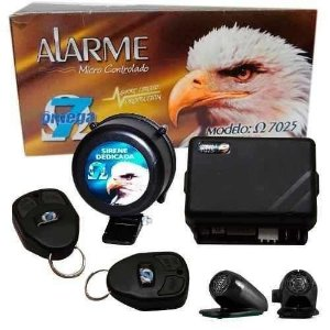 Alarme  Look Out Omega 2 Controles Completo Automotivo