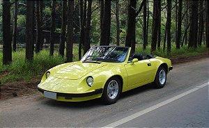 Carpete Modelado Puma GTE - GTS  76 a 83 - Conversivel / Fechada