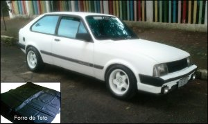 Forro de Teto Chevette Hatch