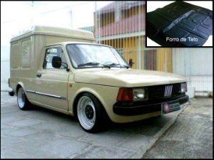 Forro de Teto Fiorino / Pick up City