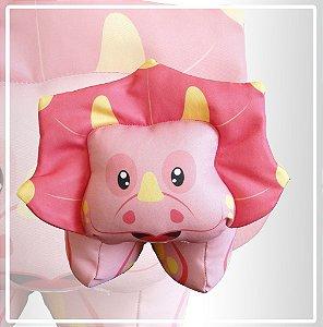 Dino cor de rosa