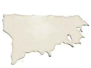 Meio Curtume de Búfalo - Cor: Natural - 2.5 à 3.5 mm