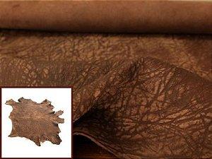 Carneiro Crispado - Textura Elefante - Cor: Tabaco Antique