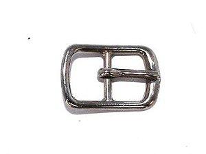Fivela 33 - Pequena - Niquelada/Ouro Velho - 10 mm