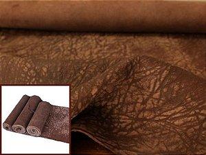 Rolos de Carneiro Crispado - Textura Elefante - Cor: Tabaco Antique