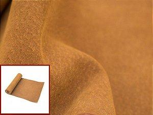 Rolos de Camurcinha Suína - Cor: Ferrugem - 0.4/0.6 mm