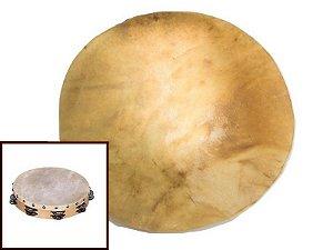 Disco de Pele de Carneiro - Couro para Pandeiros, Tambores, Bongôs. 35cm / 45cm