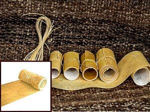 Rolos de Lonca de Potro - Cor: Clara - 0.2 à 0.6 mm