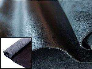 Rolos de Couro Relax - Cor: Preto Brilho - 1.2/1.4 mm