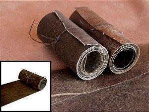 Rolos de Lonca de Potro - Cor: Escura - 0.2 à 0.6 mm