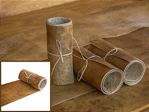 Rolos de Lonca de Carneiro - Cor: Natural - 0.4 à 0.6 mm