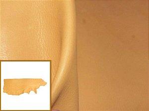 Vaqueta Semicromo Natural - Cor: Amarelo Claro - 1.2/1.8 mm