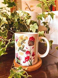 Caneca Cactus florida