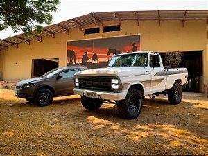 COMBO COTAS DA SAVEIRO TROPPER 2010 + COTAS F1000 1981 *AVISO: SERÃO 2 SORTEIOS!*