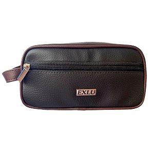 Necessaire em couro sintético EX1074