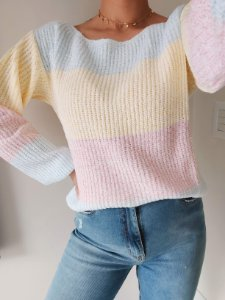 Blusa Fashion Tricot Colors Amarelo