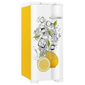 Adesivo Envelopamento Geladeira Frutas Limão