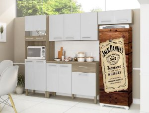 Adesivo Envelopamento Geladeira Jack Daniels