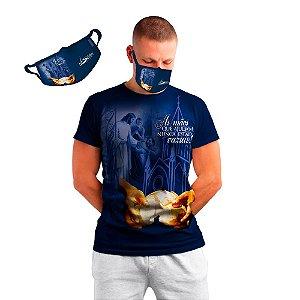 KIT Camisa e Máscara da Festa do Senhor dos Passos 2020