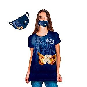 KIT Camisa Baby Look e Máscara da Festa do Senhor dos Passos 2020