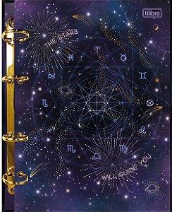 Caderno Argolado Fichário Colegial Cartonado Magic Tilibra