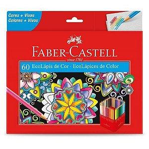 Lápis De Cor Faber Castell - 60 Cores