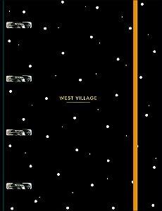 Fichário Universitário Tilibra Cartonado West Village 80 Folhas